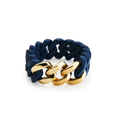 Rubz Navy Blue - Gold