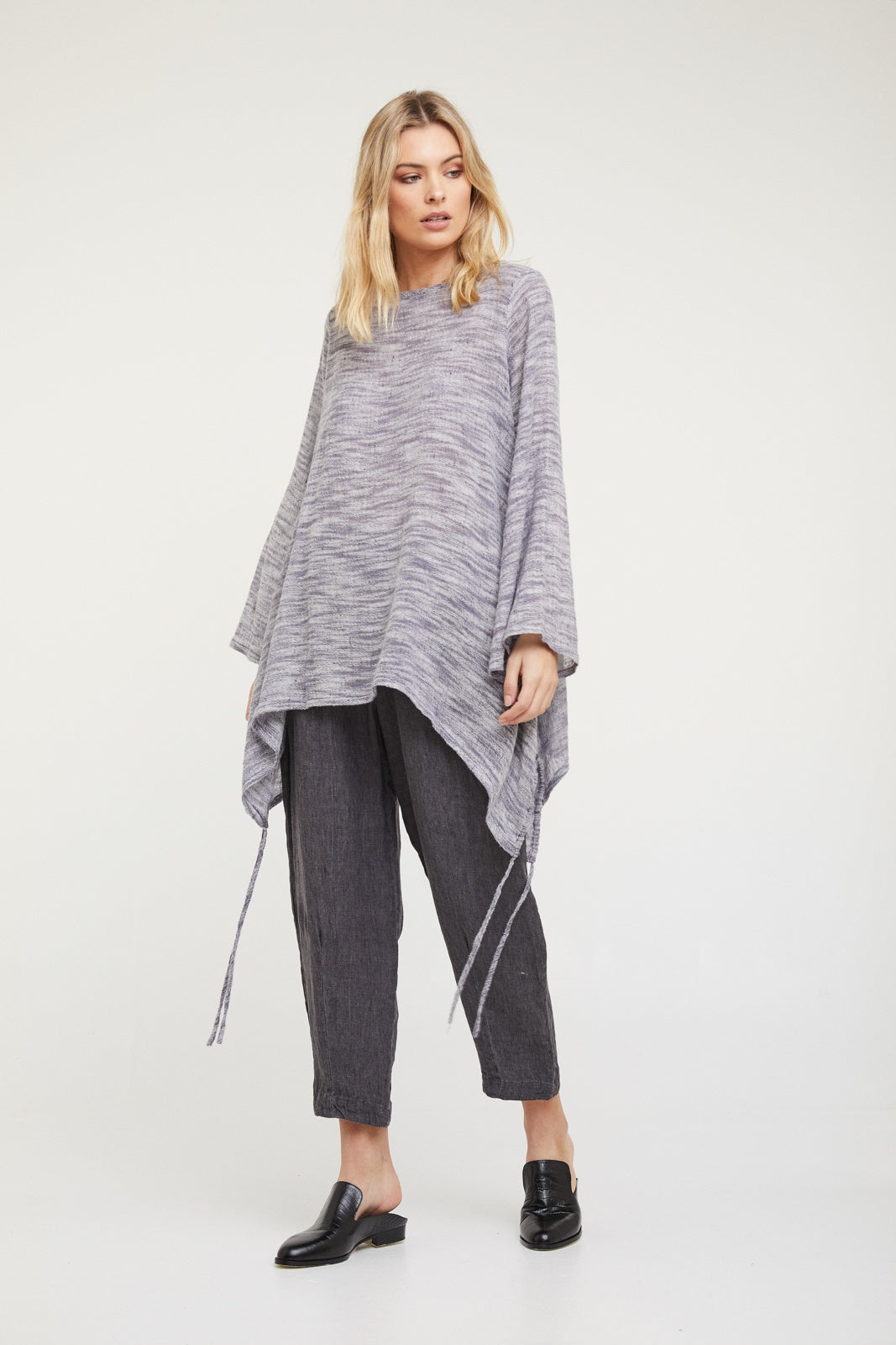 Valia Drift Away Tunic Indigo Marle