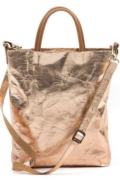 UASHMAMA Shoulder Tote Rose