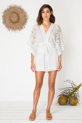 In Too Deep Playsuit - Ivory