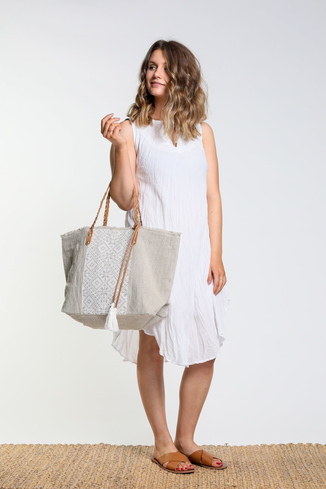 Namastai Sleeveless Cotton Dress