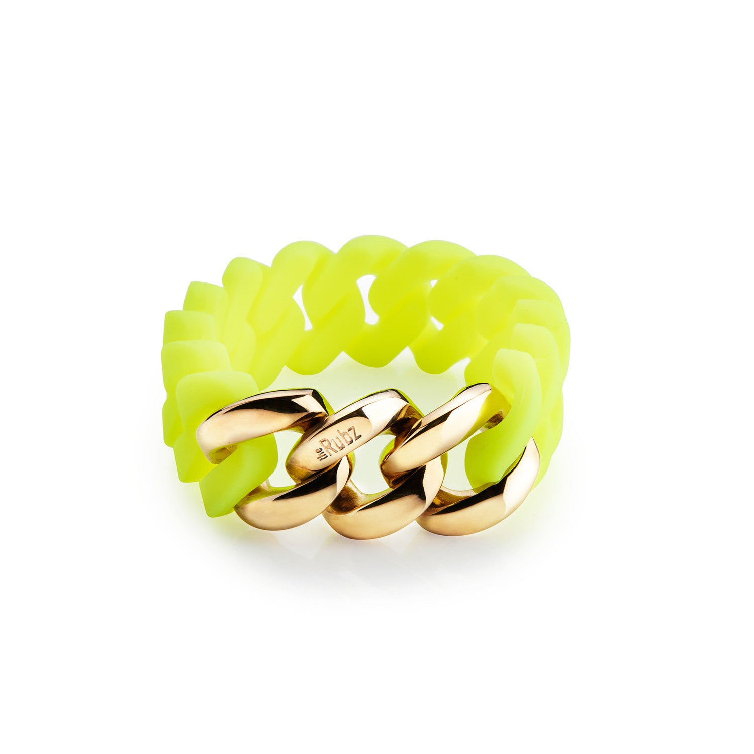 Rubz Neon Yellow - Gold