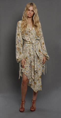 Saskia Wrap Dress