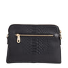 Elms + King Bowery Wallet - Black Snake