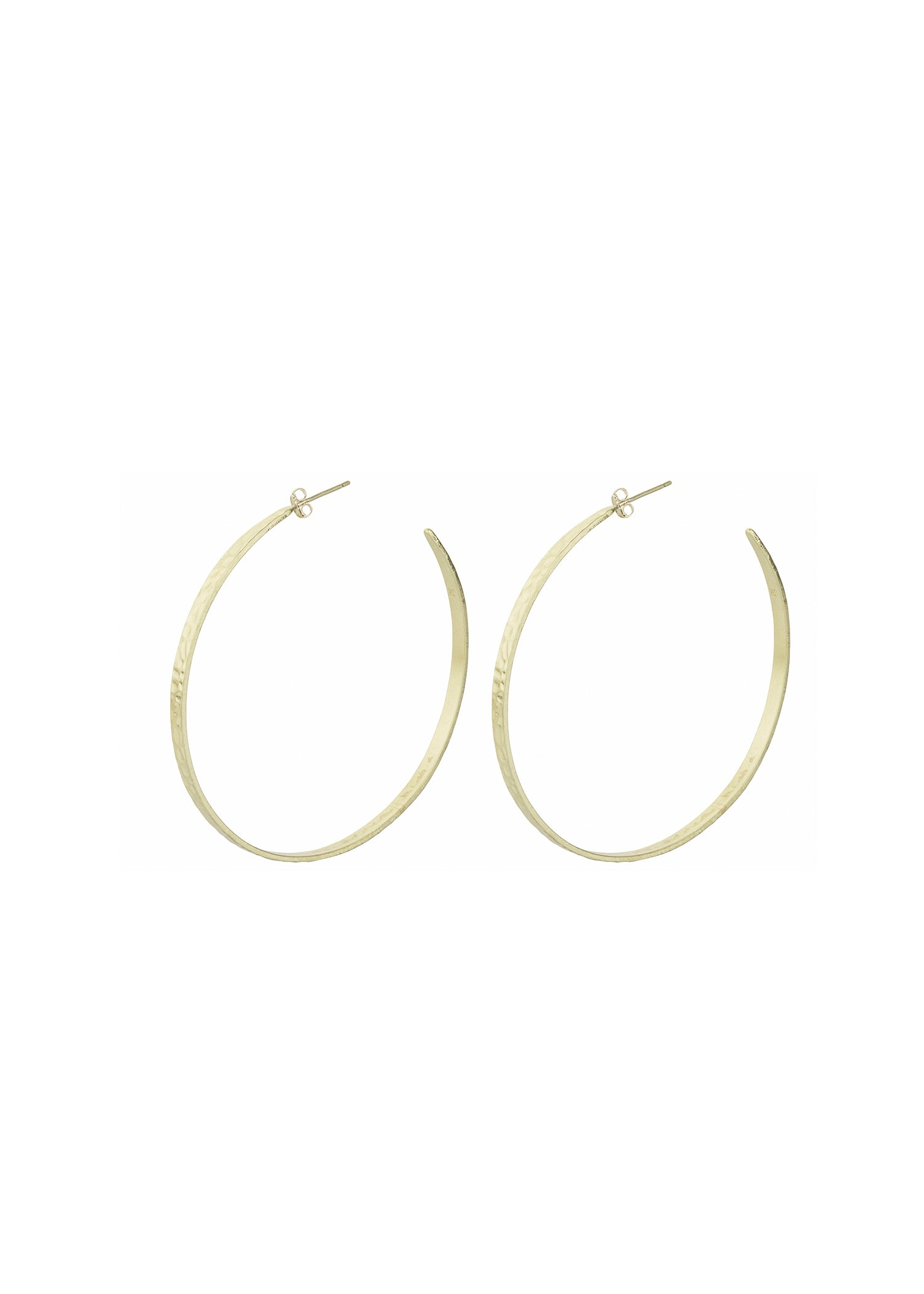 Carrie Hoop - Soft Gold