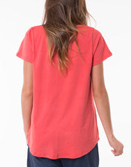 Elm Fundamental Washed Red Tee