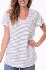 Elm Fundamental Vee Stripe Tee