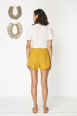 Escapade Short - Mustard