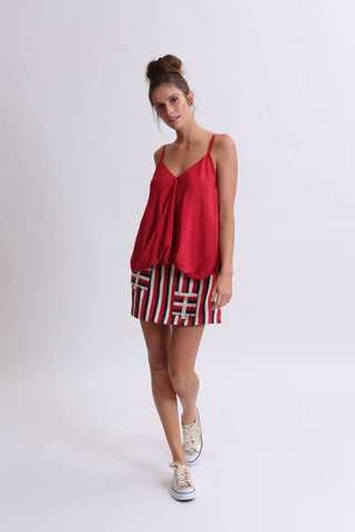 Lisa Brown Lucille Top - Red