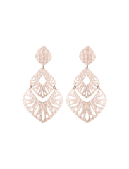 Thea Statement Earring - Rose Gold