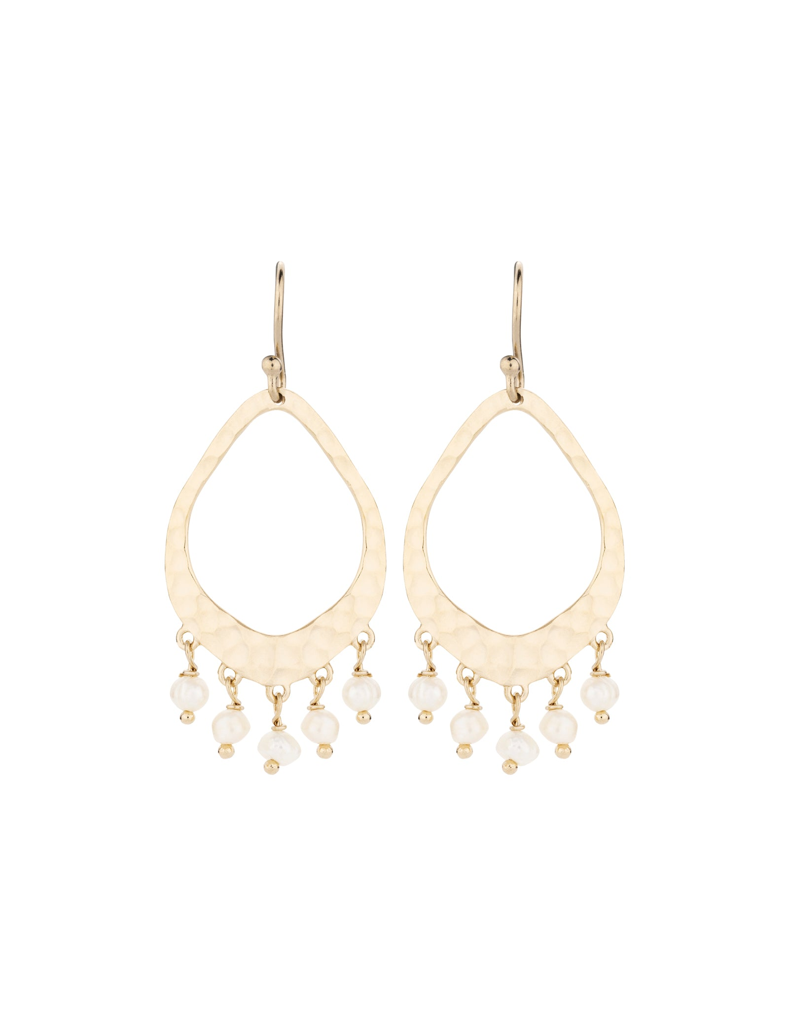 Bonnie Beaded Earring - Soft Gold