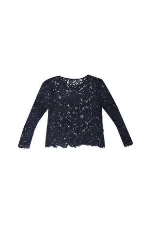 Sancerre. Pascoe Jet Lace Top