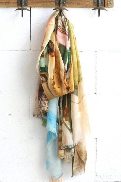 Port of Corricella Cashmere Blend Scarf