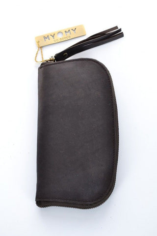 MYOMY Saddle Bag - Wallet L - Off Black