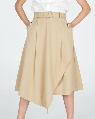 Rhetoric Skirt - Biscotti