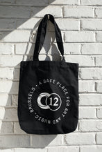 Load image into Gallery viewer, C12 Black Tote Bag