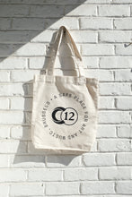 Load image into Gallery viewer, C12 White Tote Bag