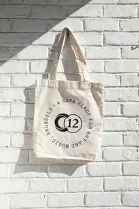 C12 White Tote Bag