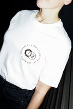 "Load image into Gallery viewer, C12 ""Art & Music"" White T-Shirt"