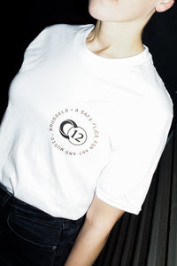 "C12 ""Art & Music"" White T-Shirt"