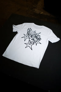 C12 x Mia Wallace Von Dalz : White T-Shirt / Short Sleeve