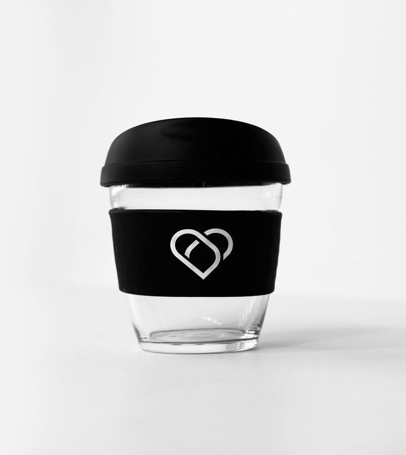 THINK CUP Think Cup 8oz Limited Edition BLACK HEART on MY SLEEVE