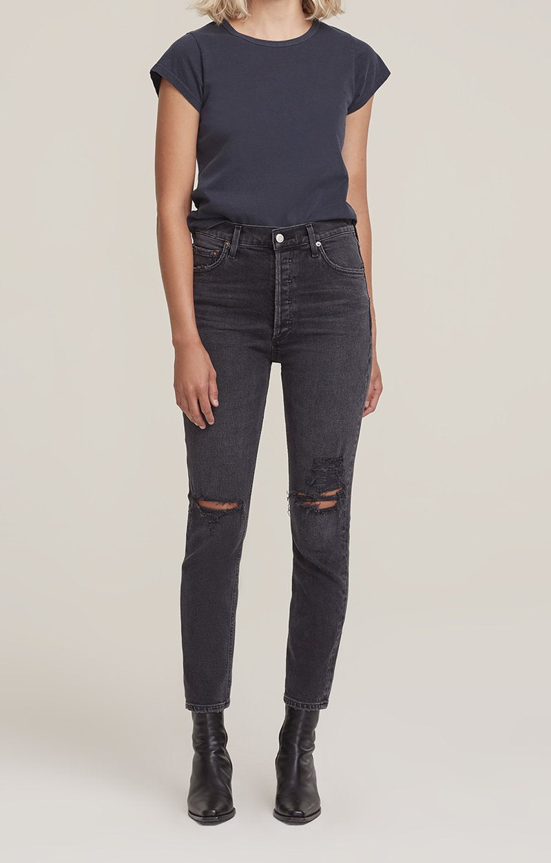 J BRAND Leenah High Rise Ankle Skinny KNOTS
