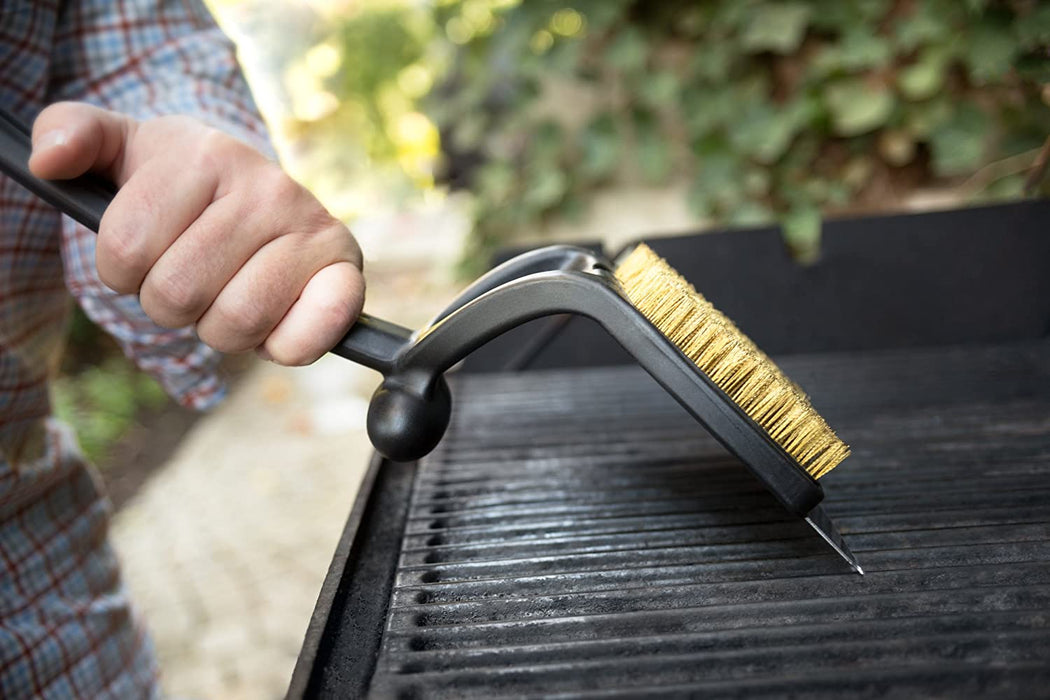 Outset Jumbo Grill Brush and Scraper