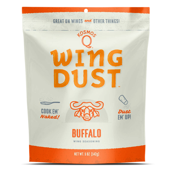 Kosmo's Q Buffalo Wing Dust