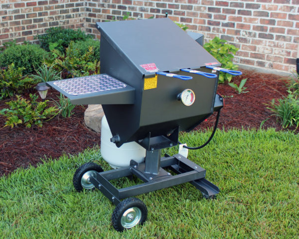 Cajun Fryer 8.5 Gallon Propane Gas Deep Fryer With Stand And 3 Baskets