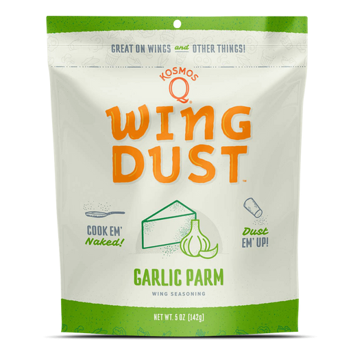 Kosmo's Q Garlic Parm Wing Dust