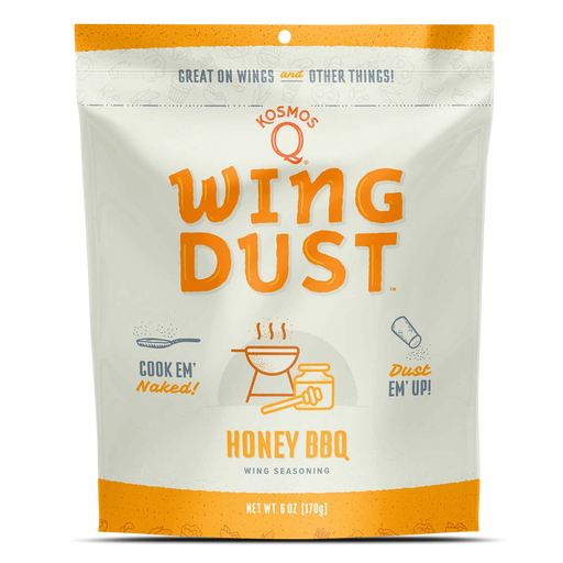Kosmo's Q Honey Barbecue Wing Dust