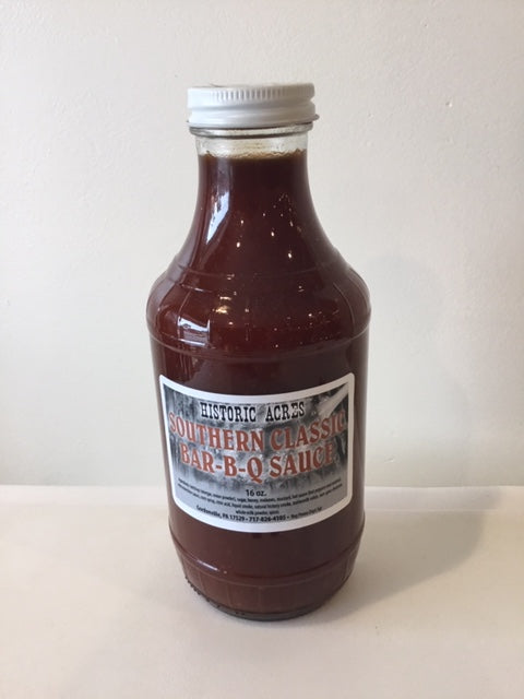 Historic Acres Southern Classic BBQ Sauce