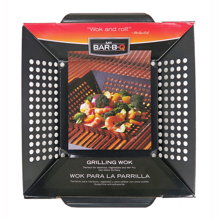 Mr. BBQ Non-Stick Grilling Wok