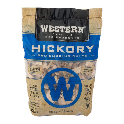 Western Hickory BBQ Smoking Chips