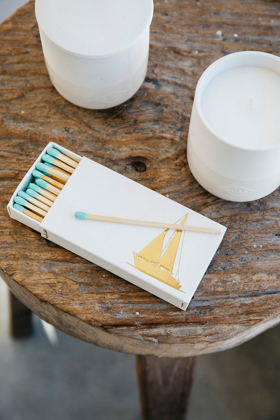 Sailboat Matchbox