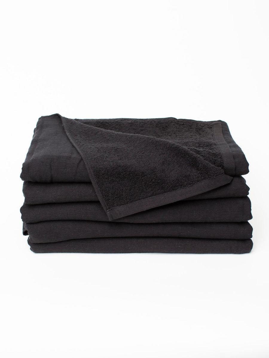 Morihata Gauze Bath Towel - Black