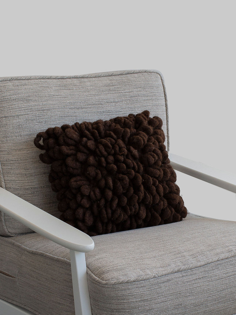 Brown Loop Pillow