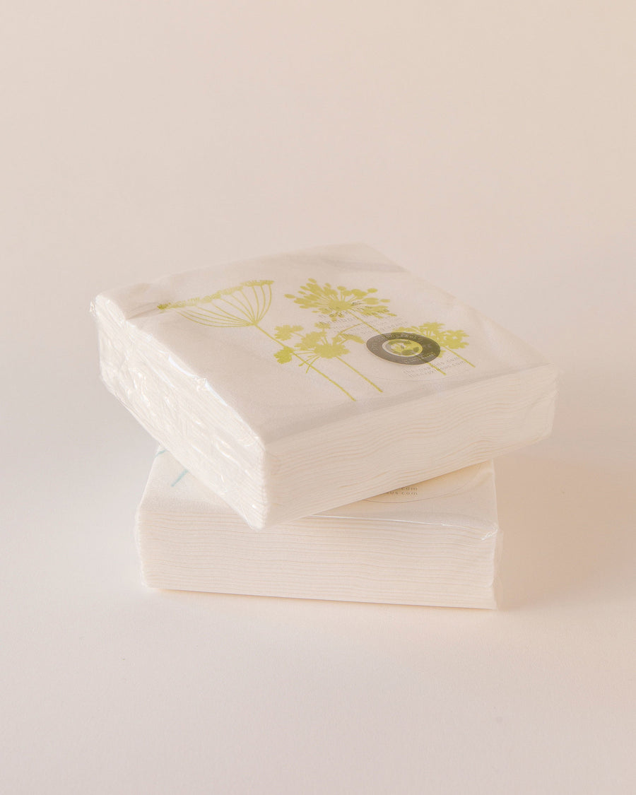 Bamboo Blend Single Use Cocktail Napkins