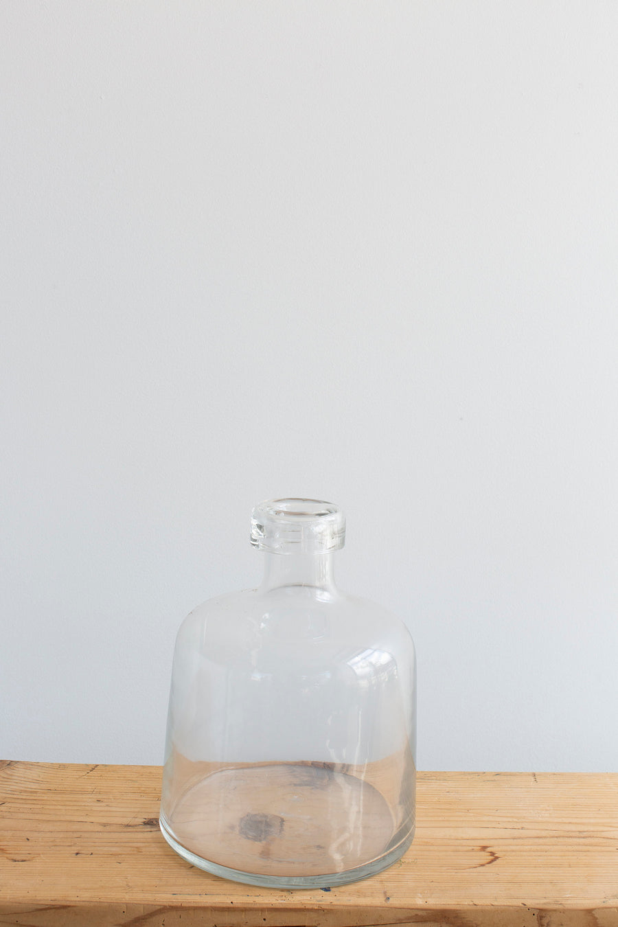 Hand Blown Vase - Clear