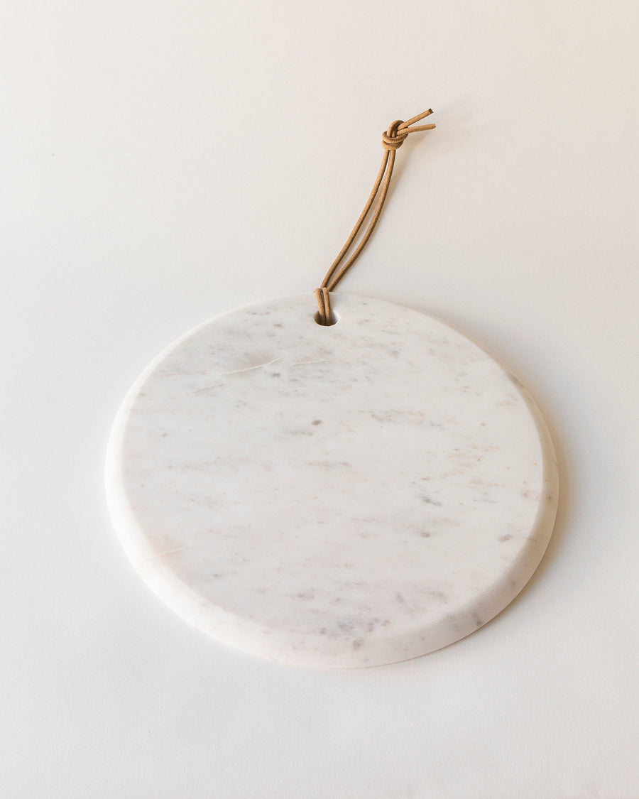 Marble Board w/Leather Tie