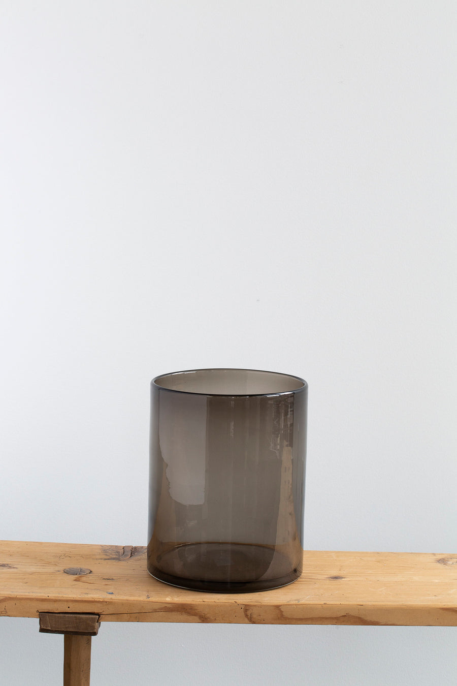 Smoke Glass Cylinder, Medium