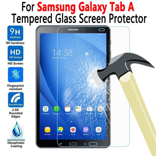 Tempered Glass Screen Protector For Samung Galaxy Tab