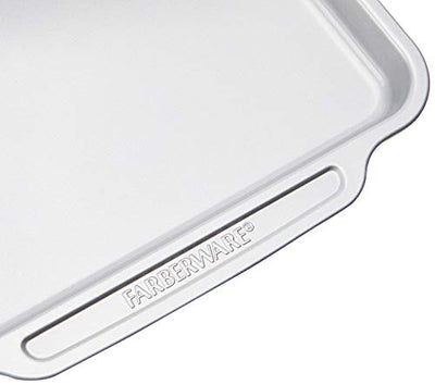 Nonstick Steel Bake ware Set with Cooling Rack, Baking Pan and Cookie Sheet Set with Nonstick Bread Pan and Cooling Grid, 10-Piece Set, Gray - Current Trend Sales