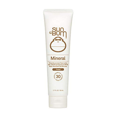 Sun Bum Mineral SPF 30 Tinted Sunscreen Face Lotion | Vegan and Reef Friendly (Octinoxate & Oxybenzone Free) Broad Spectrum Natural Sunscreen with UVA/UVB Protection | 1.7 oz - Current Trend Sales