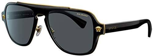 Versace VE2199 Black/Polarized Grey One Size - Current Trend Sales