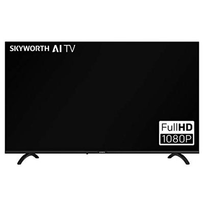 "Skyworth E20300 40"" INCH 1080P LED A53 Quad-CORE Android TV Smart 40E20300 with Voice Remote with Google Assistant, 1mm Thin Bezel, and Android Operating System"