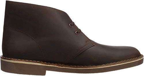 Clarks Men's Bushacre 2, Dark Brown, 8.5 W US