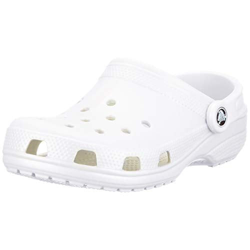 Crocs White, 6 M US Men/8 M US Women