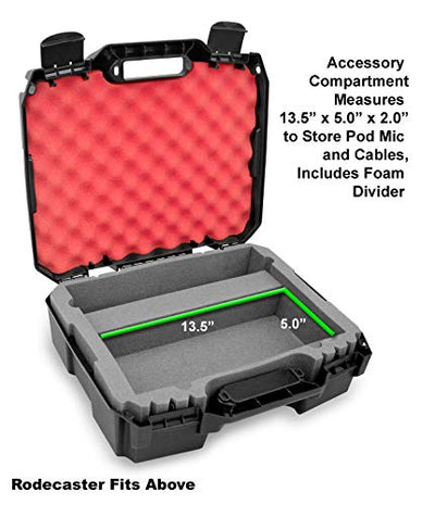Casematix Studio Mixer Hard Case Fits Rode RODECaster Pro Podcast Production Studio - Current Trend Sales